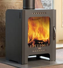 The London - Wood Burning Stove - FB