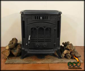 The Marbella - Wood Burner ECO036  - Cast Iron Wood Stove